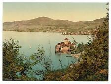 Chillon Castle Montreux Geneva Lake A4 Photo Print