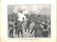 1905 Moscow Strikers Wreck Railway Engine Nicholas Mary Augusta Lady Holland