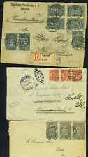 "GERMANY 1920's INFLATION ISSUES REGISTERED ""ELBERFELDER"