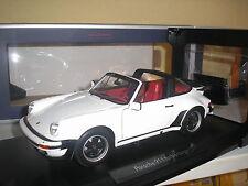 Porsche 911 turbo Targa blanco 1987 en 1:18 de norev