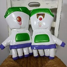 DISNEY PARKS BUZZ LIGHTYEAR Gloves Space Ranger Costume Hands One Size