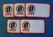 5 Lot Vintage 1980's GM Buick Car Club Jacket Coveralls Uniform Patches Crests
