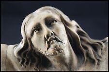 † c.1700 WOOD HANDCARVED CRUCIFIX STATUE JESUS CHRIST CHRISTI CORPUS ITALY CROSS