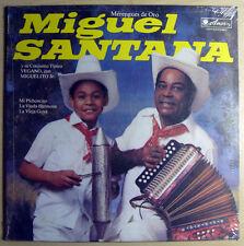 Miguel Santana – Merengues de Oro SEALED LP LATIN 1983 US Amor Records SALP0172