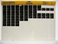 Honda CM91 1966 1967 1968 1969 Parts List Catalog Microfiche a738