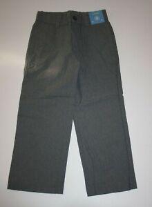 New Gymboree Boys Holiday Dress Up Gray Dressy Pants 5 Year Adjustable Waist