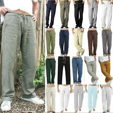 """Match Men/'s Tapered Linen Casual Trousers Pants W29/"""" 8059 Apricot"""