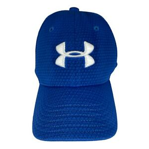 Under Armour Youth Unisex Blue Baseball Hat Golf Golfing Hat Cap Youth S/M