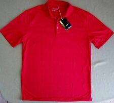 Nike Golf $65 leichte Innovation Polyester Polo Shirt #508321 rot Größe M #21