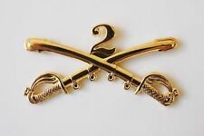 Civil War Indian Wars 2nd Dragoons US Army Cavalry  Hat Pin New