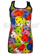 Camisas y tops de mujer de color principal multicolor de poliéster sin mangas