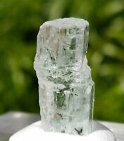 9ct, Natural Patial Terminated Aquamarine Rare Crystal Shigar Pakistan US SELLER