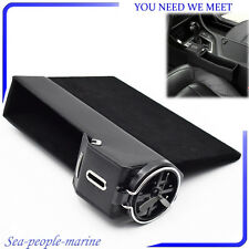 Black Leather Car Seat Storage Box Catcher Gap Filler Coin Collector Cup Holder