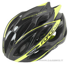 Force Bull Casco Ciclo MTB/Corsa Black - Fluo
