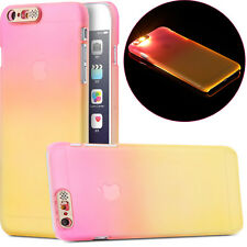 Ultrathin calling LED flashing light hard case for IPhone 6 6s 4.7 plus 5.5