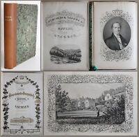 Schladebach -Friedrich August II. König von Sachsen 1854 Geschichte Biografie xz