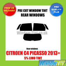 CITROEN C4 PICASSO 2013+ 5% LIMO REAR PRE CUT WINDOW TINT