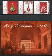 Palästina Palestine 2012 Weihnachten Christmas 264-266 Block 31 Postfrisch MNH