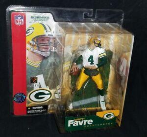 McFarlane NFL Series 4 BRETT FAVRE Green Bay Packers Chase Variant Figure
