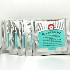 FIRST AID BEAUTY (x5!) Facial Radiance Pads Exfoliate, *50!* Tone & Brighten FAB