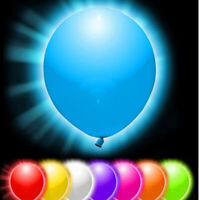 LED Balloons Light Up Glow Dark Party Balloon Wedding Lights Decoration 10 Pcs