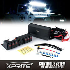 Xprite 6 Rocker Switch Light Control System for Jeep Wrangler