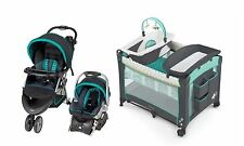 Baby Trend Stroller Car Seat Playard Basinet Travel System Set