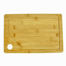 Bamboo Chopping Board Cutting 33cm Dicing Kitchen Ware Eco Wood Food Serving New