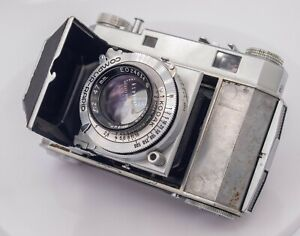 Kodak Retina II 011 35mm Film Rangefinder Camera - w/ Rare Ektar 47mm F2.0 Lens