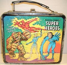 "Vintage/Collectible 1976 ""Super Heroes"" Metal Lunch Box From Marvel Comics"