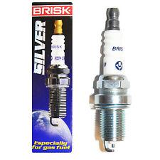 6x Brisk Silver Spark Plug DR15YS-9 GPL AUTOGAS LNG METAN LPG CNG (1462)