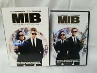MEN IN BLACK INTERNATIONAL DVD NEW MIB INTERNATIONAL WITH SLIPCOVER