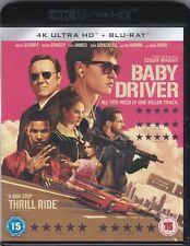 Baby Driver (4K UHD + Blu-ray, A Superb Heist Movie)