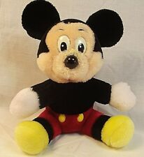 "Disneyland Vintage 7"" Mickey Mouse Plush Stuffed Animal Made in Sir Lanka"