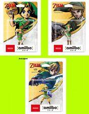 Pre amiibo Zelda Link Majora's Mask Skyward Sword Twilight Princess Toy Japan