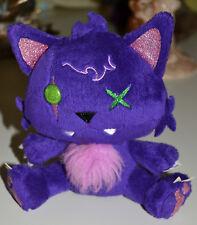 """Mattel Monster High Clawdeen'S Plush 7"""" Purple Pet Cat, Kitten """"Crescent"""" Toy"""