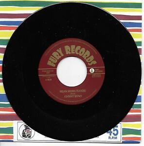 JOHNNY BOND Mean Mama Boogie / Put Me To Bed vinyl single Hillbilly Rockabilly