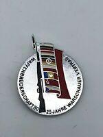 Vintage East German VERY RARE Warsaw Pact 1980 Joint Maneuver Badge