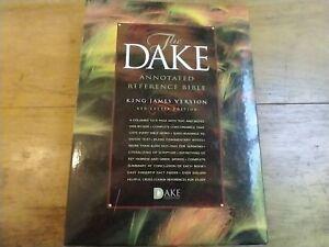 KJV DAKE ANNOTATED REFERENCE BIBLE, BONDED LEATHER, By Finis Jennings Dake