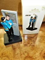 Hallmark Star Trek mirro mirror Spock and McCoy ornament
