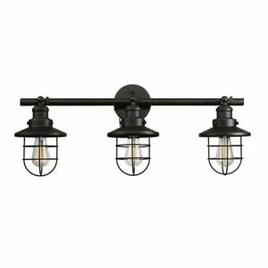 Globe Electric Beaufort 3-Light Oil Rubbed Bronze Sconce