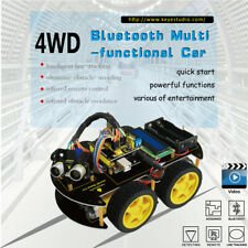 4WD Electronic DIY Car Robot Starter Learning Kit for Arduino UNO for Teens Kids