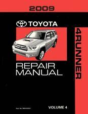 2009 Toyota 4-Runner Shop Service Repair Manual Book Volume 4 Only