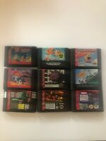 Sega Genesis 9 Game lot - All Tested - Sonic Spinball, Sonic 2, Wacky Worlds -IL