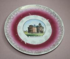 Collectible Mc. Clusky N. D. School Plate Designed: Edward Tapley Jenroth Studio