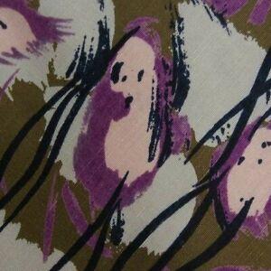 Green Purple Abstract Silk MOLTENI Tie