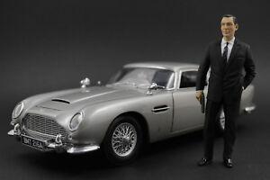 Sean Connery James Bond Figur für 1:18 AUTOart Toyota 2000GT Roadster NO CAR