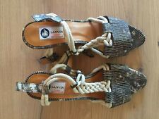 lanvin shoes size 10 US EU size 41 NEW no Box