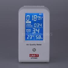UNI-T UT-338C Indoor VOC PM2.5 Air Quality Detector Monitor Thermometer 41E9