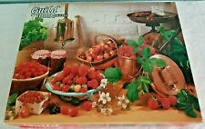 "Vintage Whitman Guild 1000 Pc. Puzzle Cherries And Berries 21.5"" X 27.5"" Sealed"